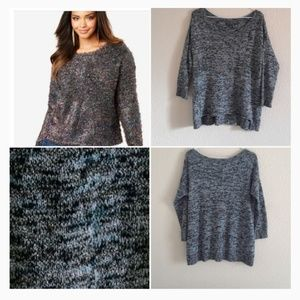 AEO Metallic Sweater